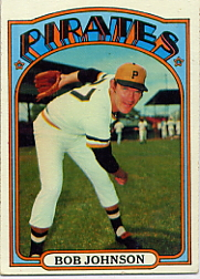 1972 Topps Baseball Cards      027      Bob Johnson